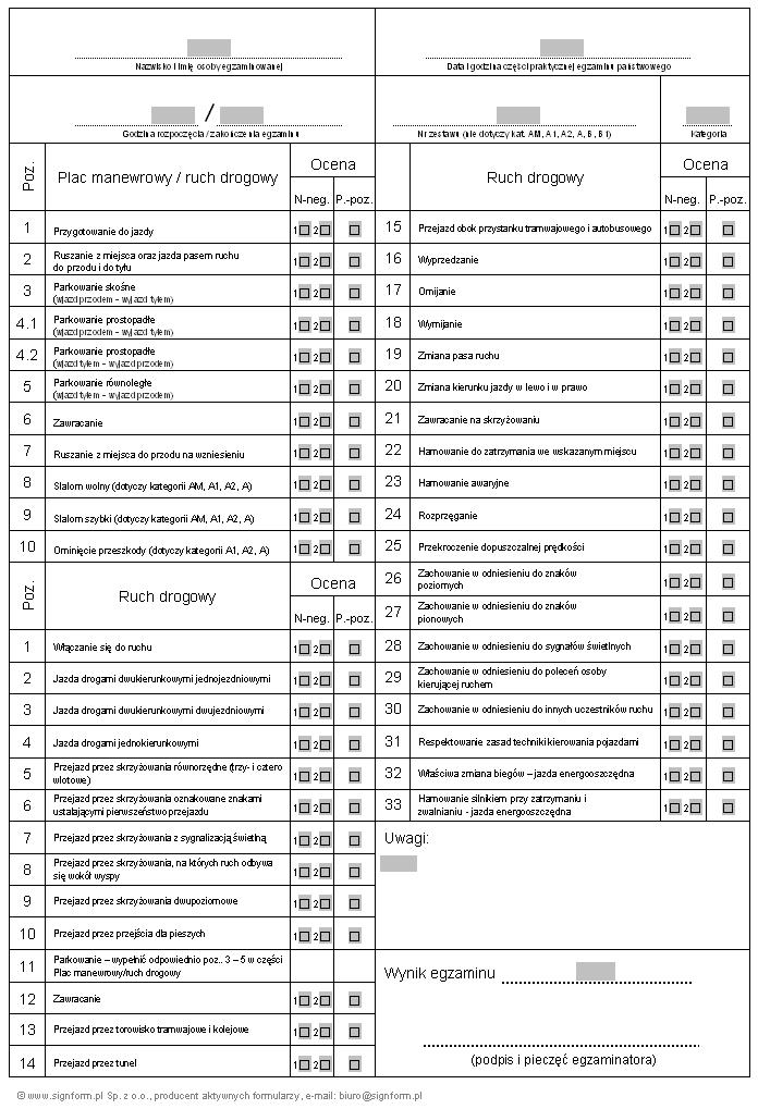arkusz egzaminacyjny